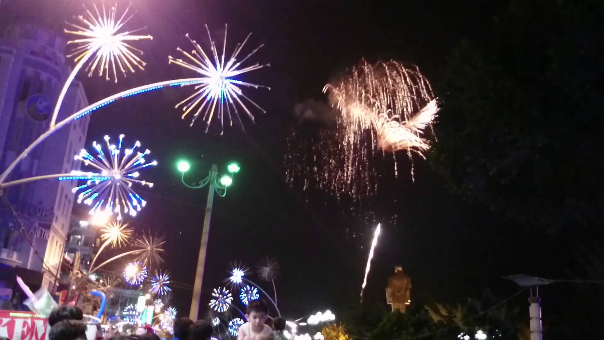 Địa điểm bắn phoá hoa Tết Nguyên Đán Mậu Tuất 2018 tại Cần Thơ