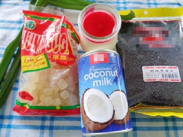 cách làm sữa chua nếp cẩm 00
