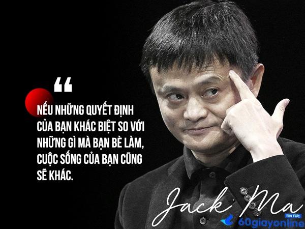 Những câu nói hay về thuật lãnh đạo của jack ma