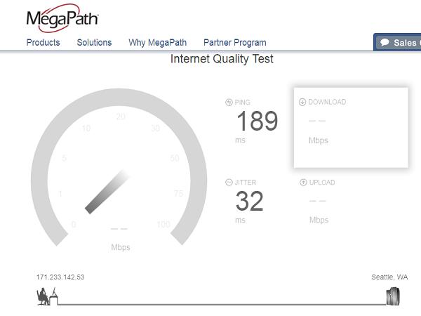 kiểm tra tốc độ mạng 2.2