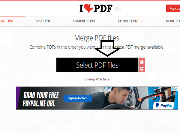 ghép file pdf online 12