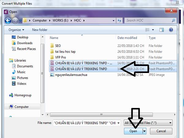 ghép file pdf bằng foxit reader 03