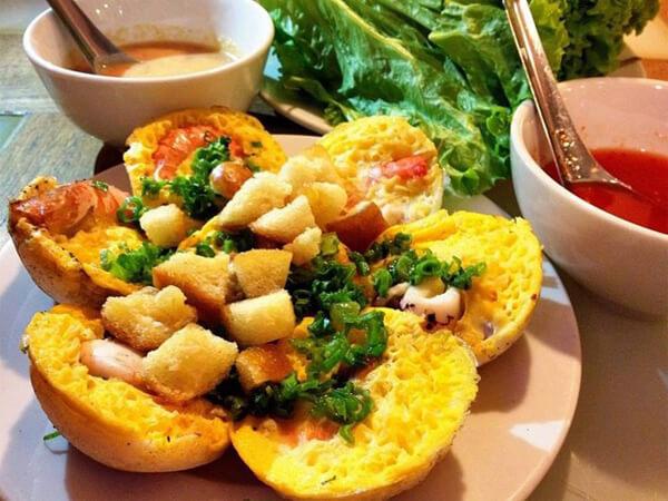 Bánh căn, đặc sản Ninh Thuận
