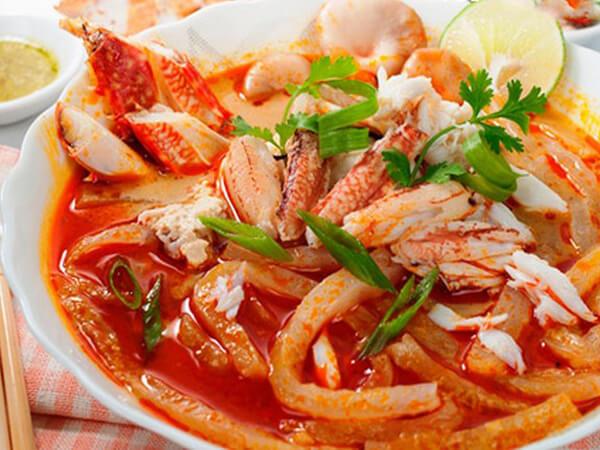 Bánh canh ghẹ, đặc sản Kiên Giang