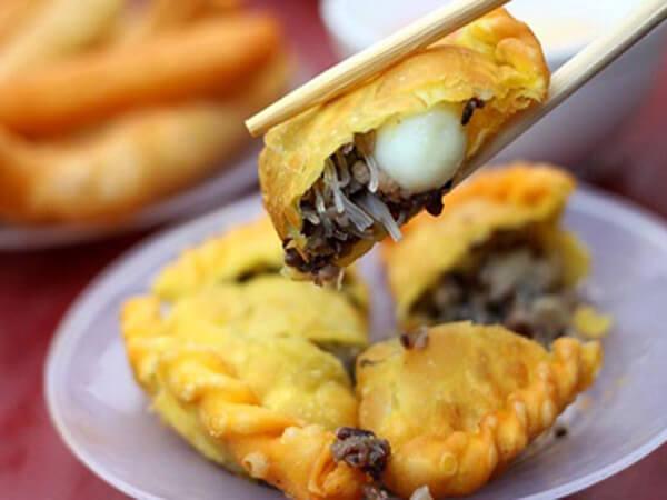 Bánh gối, đặc sản Nam Định