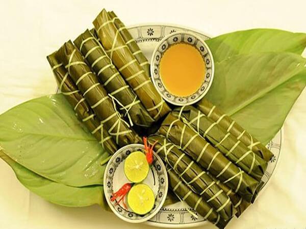 Bánh tẻ làng Chờ, đặc sản Bắc Ninh.