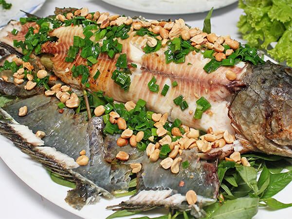 Cá lóc nướng thui, đặc sản Long An