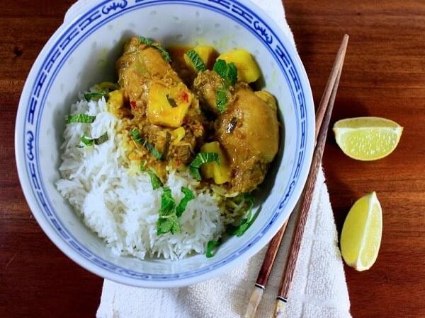 Cà ri gà malaysia