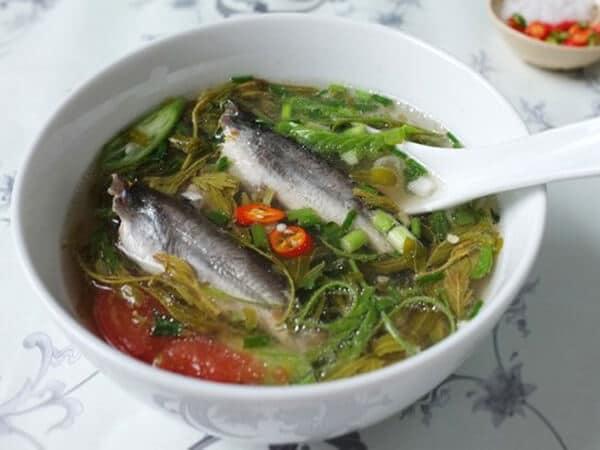 Canh chua cá chốt, đặc sản Long An