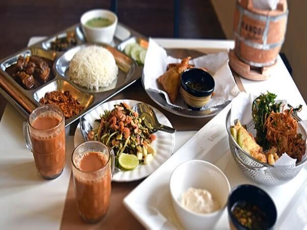 cơm quán trà đặc sản myanmar
