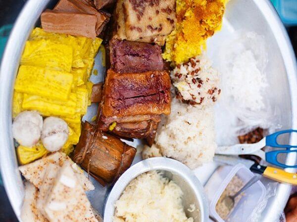 đồ ăn ngọt myanmar