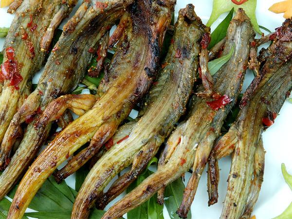 Dông nướng, đặc sản Ninh Thuận