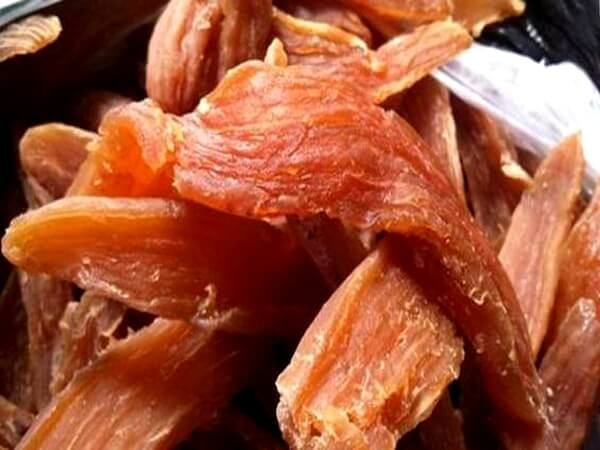Khoai deo đặc sản Quảng Bình