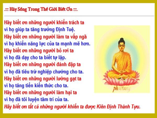 Lời dạy của Đức Phật về đạo làm người