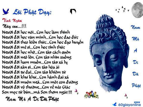 Những câu nói hay của Phật về đạo làm người