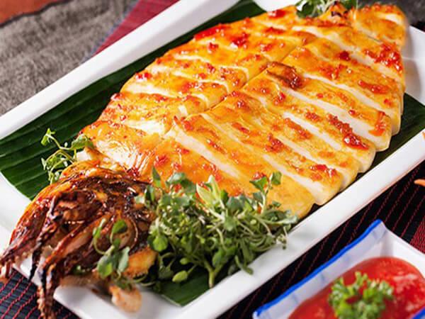 Mực một nắng đặc sản Bình Thuận