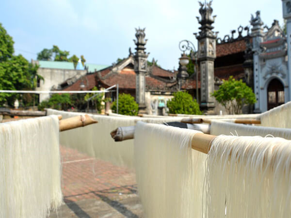 Mỳ gạo Hùng Sơn, đặc sản Thái Nguyên