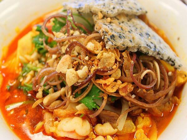 Mỳ quảng, đặc sản Ninh Thuận