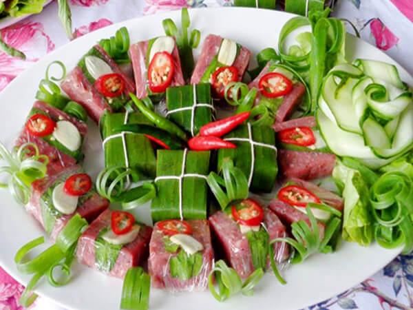 Nem chua Đại Từ, đặc sản Thái Nguyên