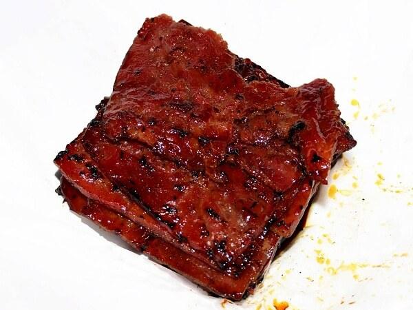 thịt heo kho singapore