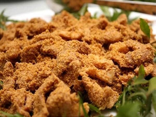 Thịt lợn muối chua, đặc sản Long An