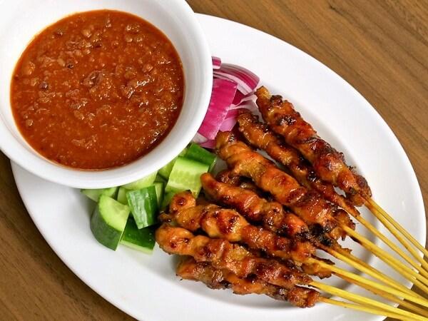 thịt xiên nướng malaysia