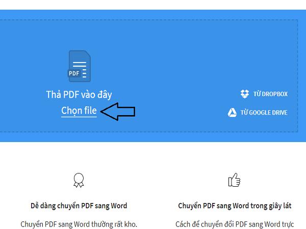 chuyển pdf sang word 1.2