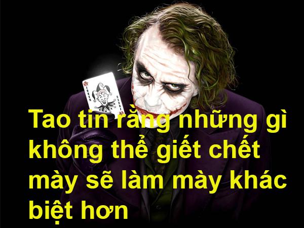 Những câu nói hay của Joker