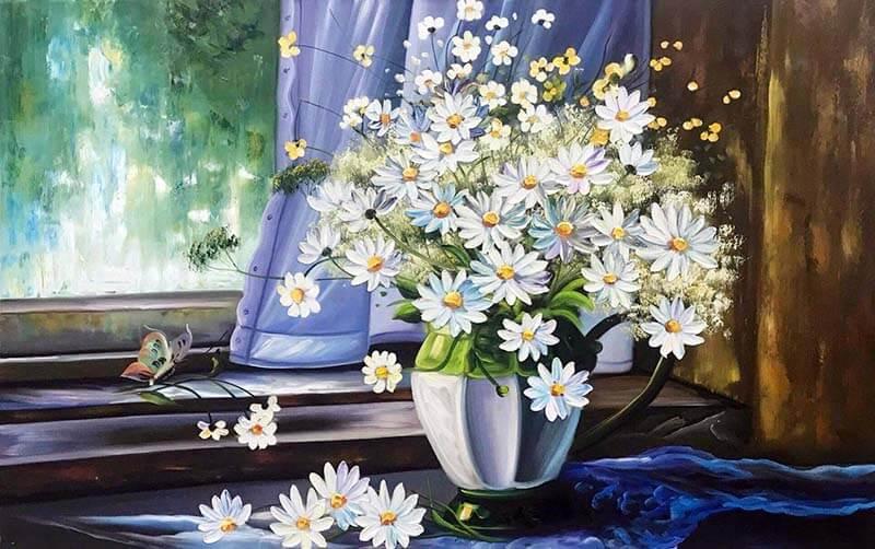 ý nghĩa hoa cúc trong phong thủy