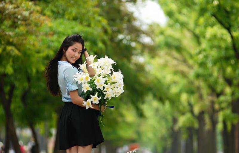 Ý nghĩa khi tặng hoa loa kèn