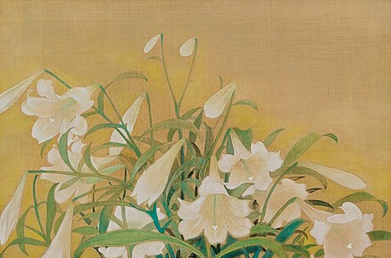 ý nghĩa của Tranh hoa loa kèn