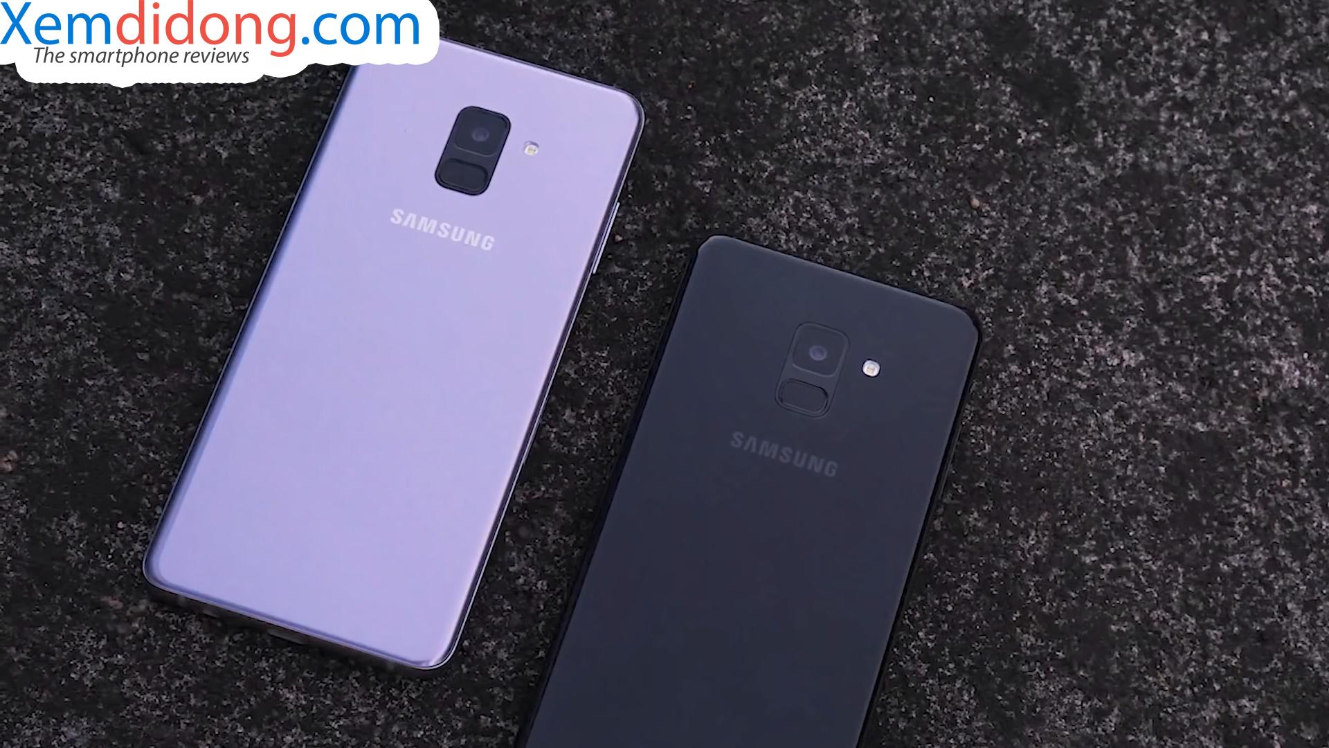 Đánh giá chi tiết Samsung Galaxy A8 2018 - Ảnh 10