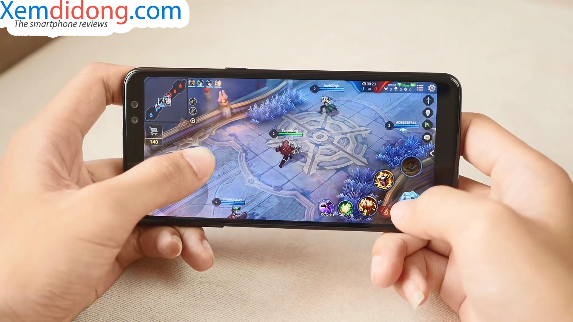 Đánh giá chi tiết Samsung Galaxy A8 2018 - Ảnh 11