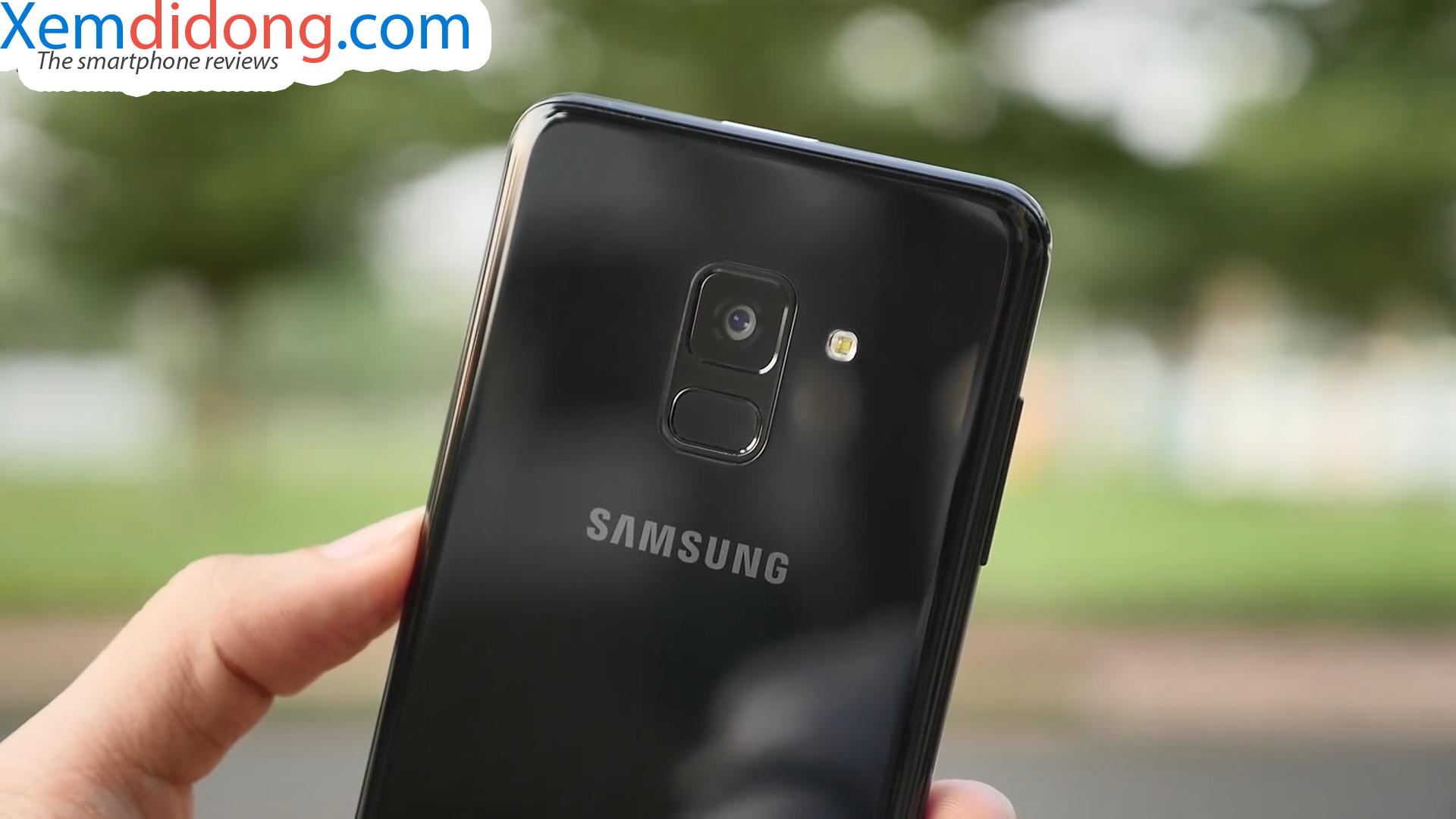 Đánh giá chi tiết Samsung Galaxy A8 2018 - Ảnh 4