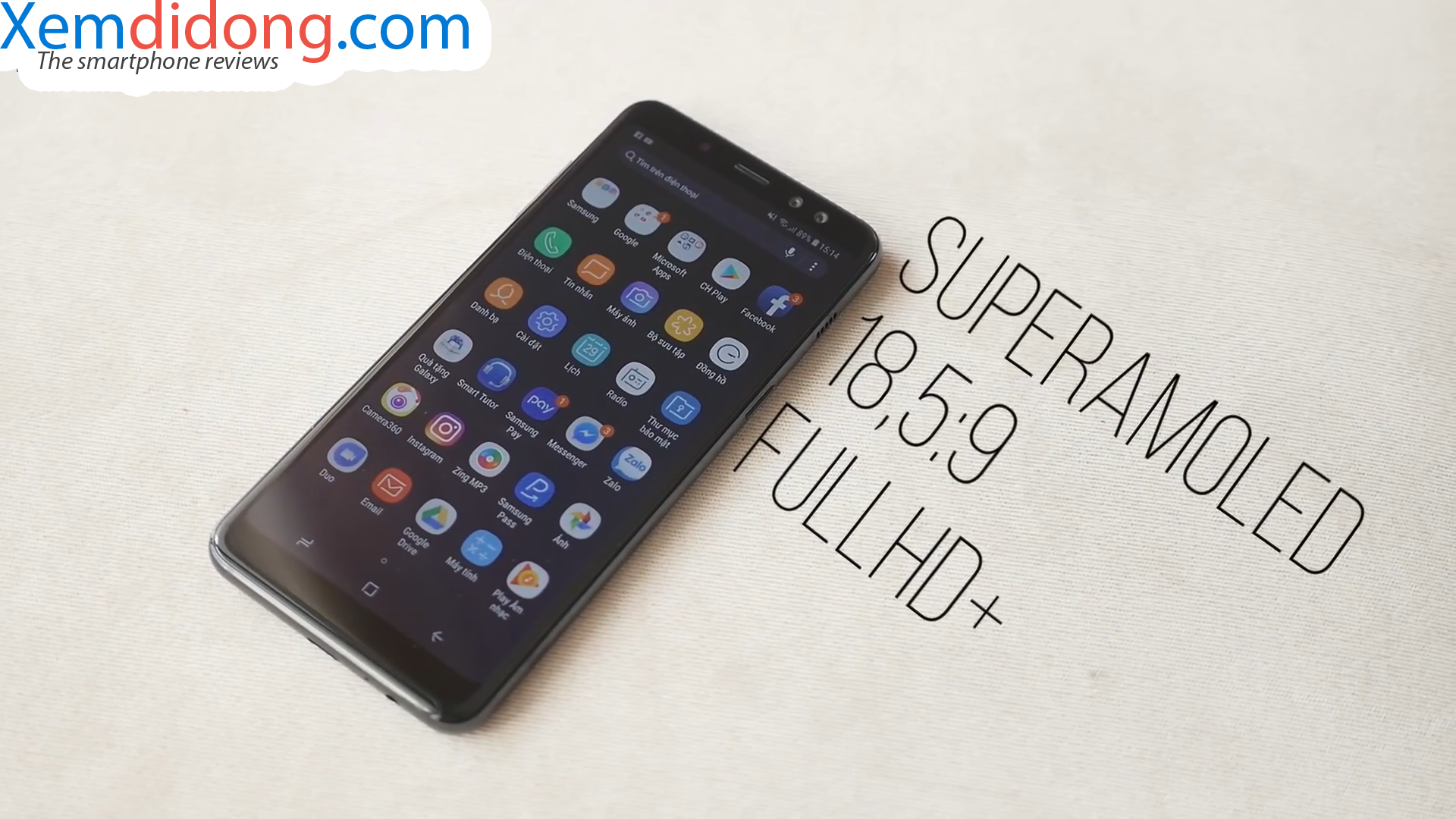 Đánh giá chi tiết Samsung Galaxy A8 2018 - Ảnh 5
