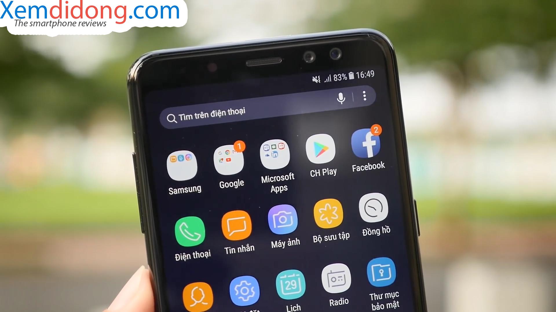 Đánh giá chi tiết Samsung Galaxy A8 2018 - Ảnh 7