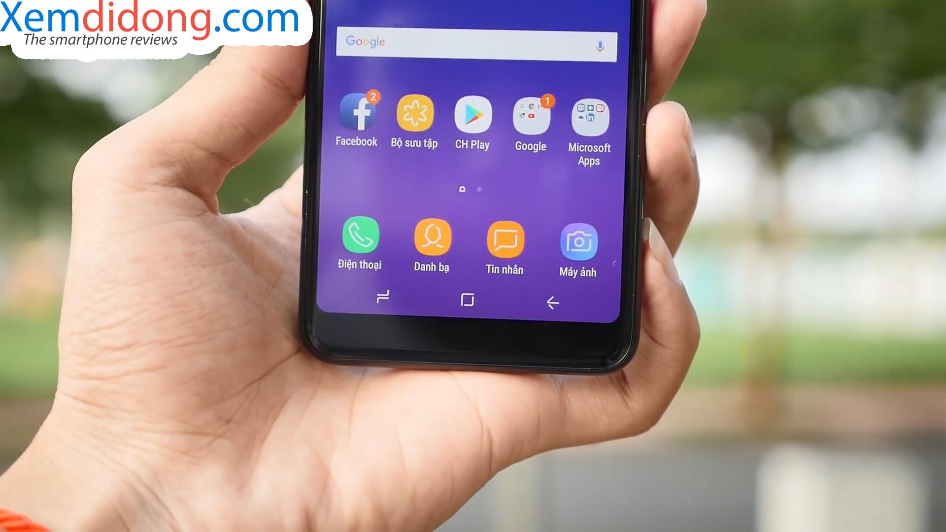 Đánh giá chi tiết Samsung Galaxy A8 2018 - Ảnh 8