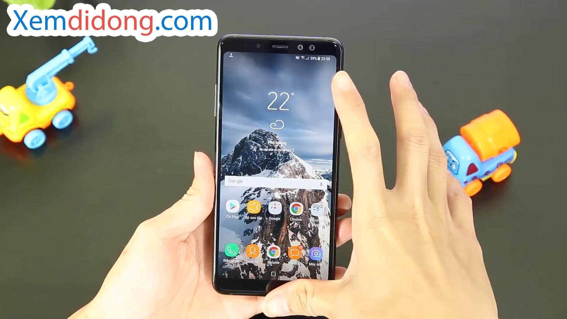 Đánh giá chi tiết Samsung Galaxy A8 Plus 2018 - Ảnh 3