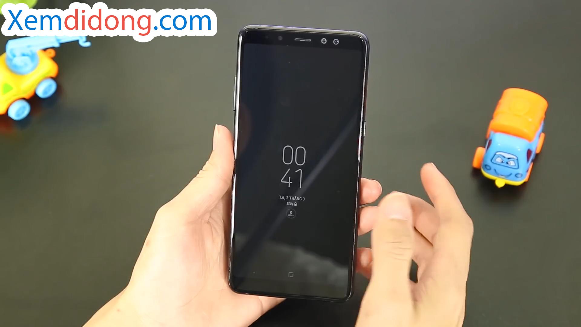 Đánh giá chi tiết Samsung Galaxy A8 Plus 2018 - Ảnh 4