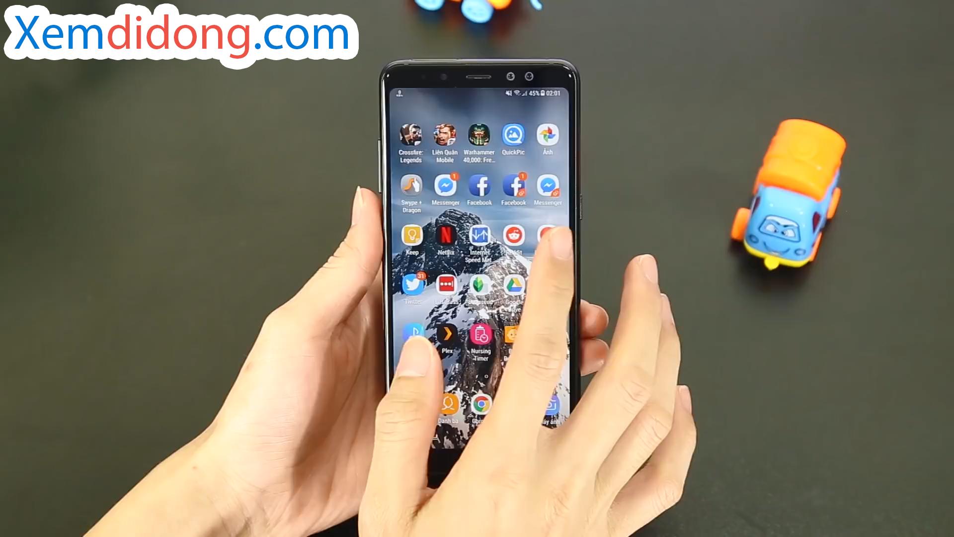Đánh giá chi tiết Samsung Galaxy A8 Plus 2018 - Ảnh 5