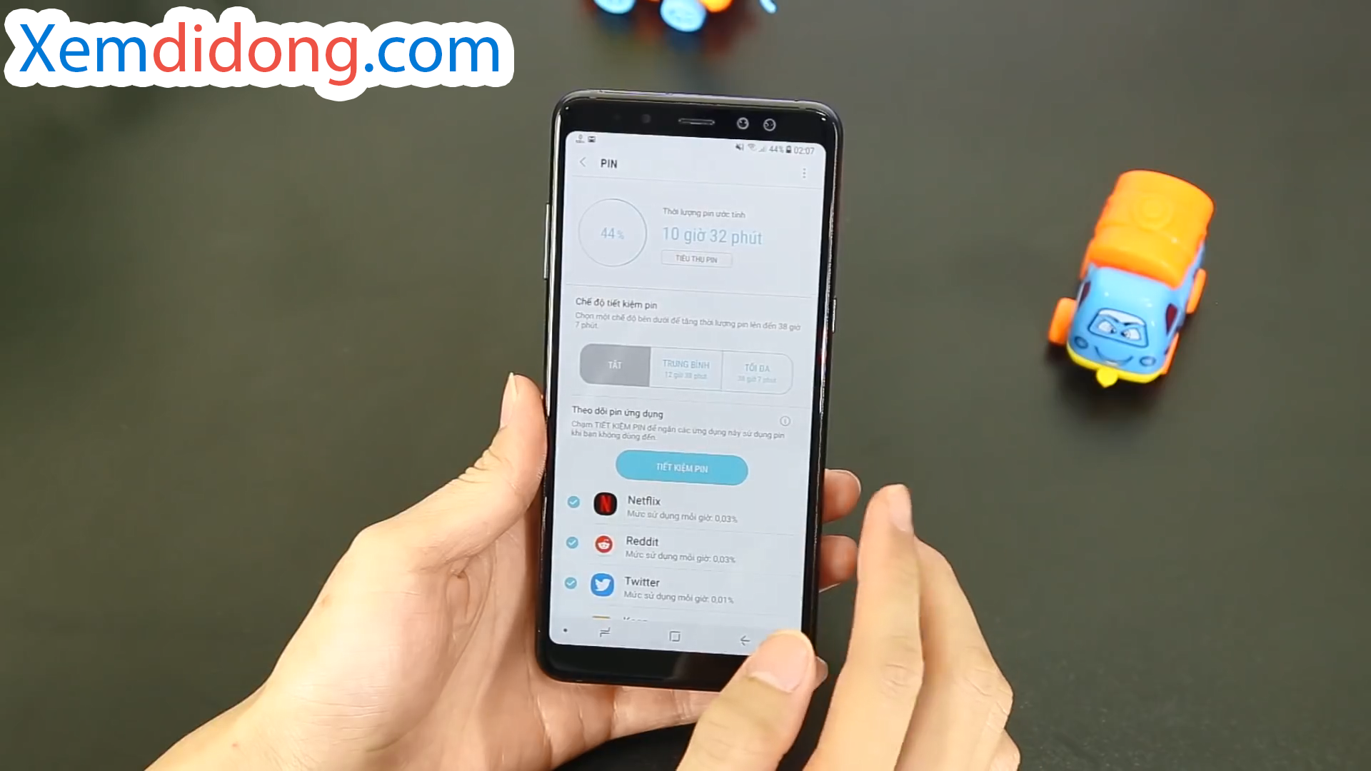 Đánh giá chi tiết Samsung Galaxy A8 Plus 2018 - Ảnh 6