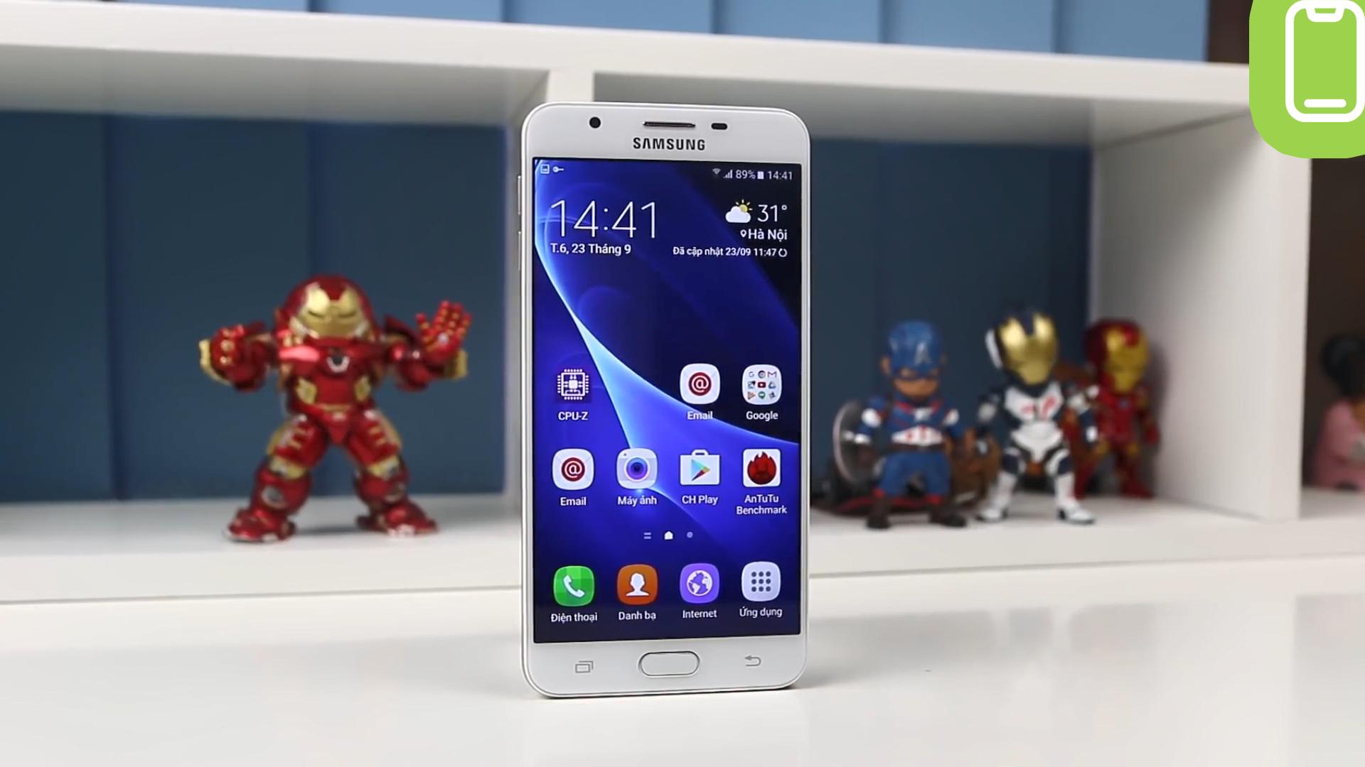 Đánh giá chi tiết Samsung Galaxy J7 Prime - Ảnh 1
