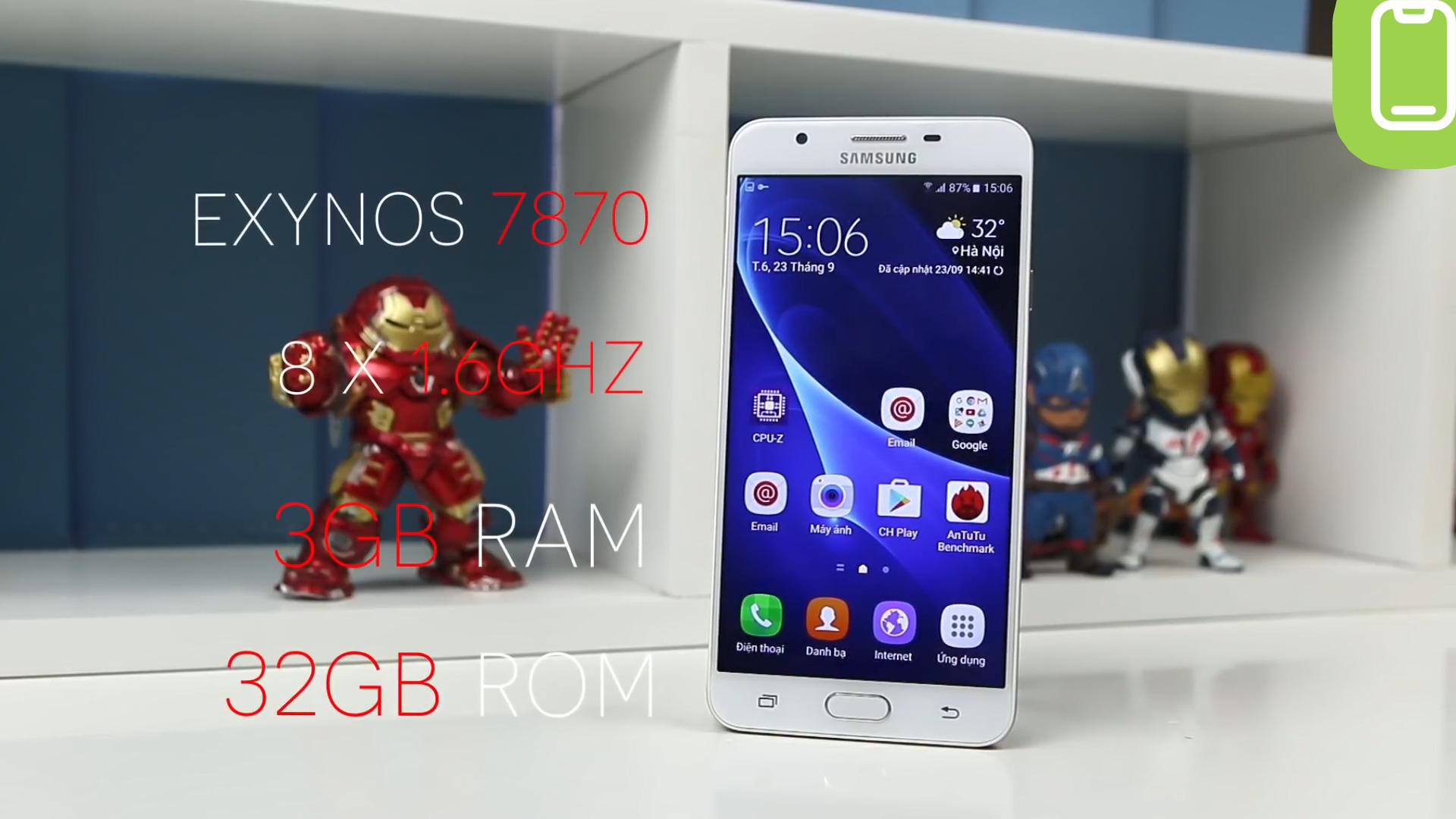 Đánh giá chi tiết Samsung Galaxy J7 Prime - Ảnh 10