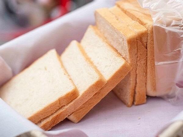 bánh mì sanwich làm kem chiên