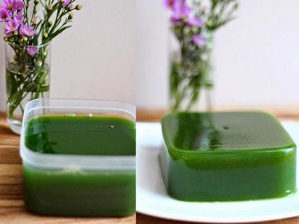 thạch rau câu cho trà sữa thái