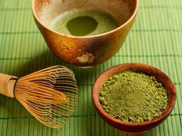 bột matcha trà xanh
