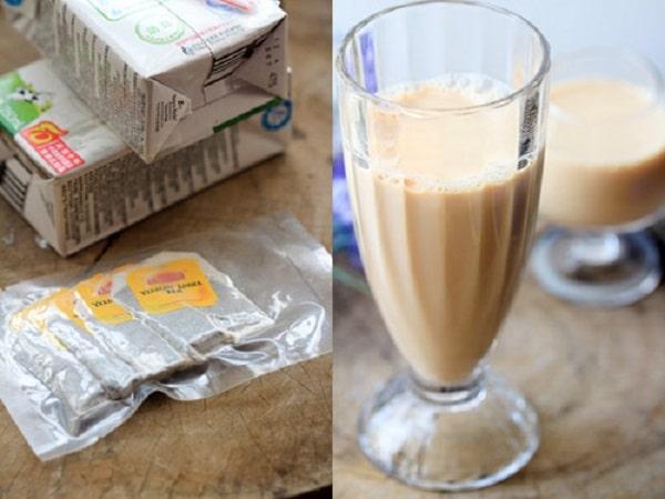 nguyên liệu làm trà sữa lipton