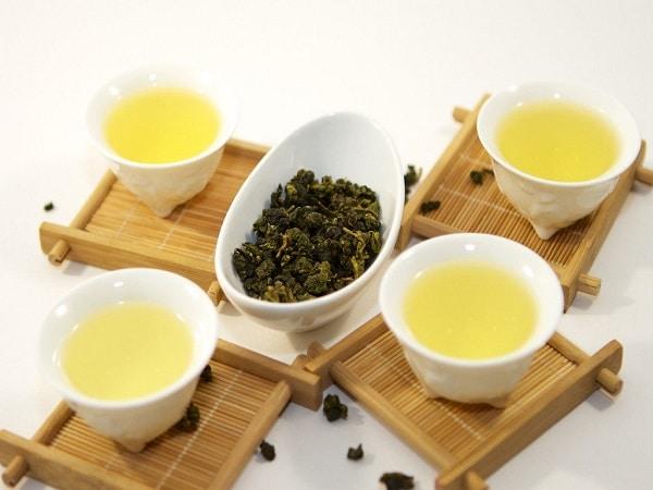 trà ô long để làm trà sữa