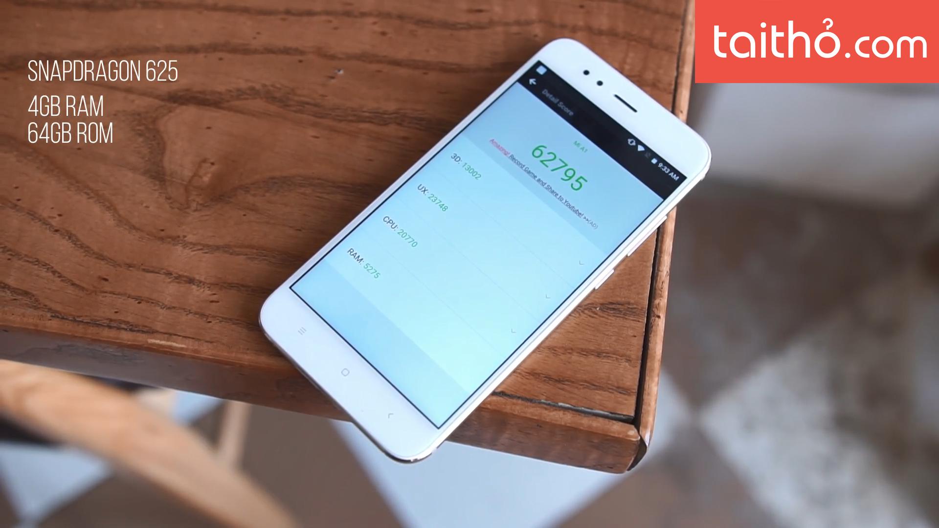 Đánh giá chi tiết Xiaomi Mi A1 - Ảnh 8