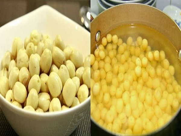 luộc hạt sen